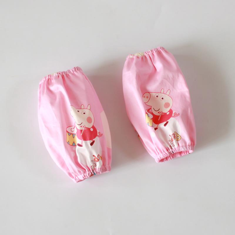 包邮 儿童纯棉宝宝袖套可爱婴儿套袖 纯棉斜纹袖套 不防水