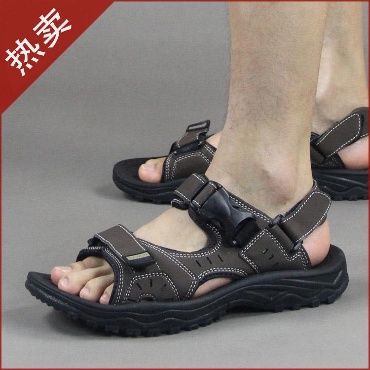 2015 году новый приток вьетнамских кожаные сандалии мужская спорт отдых летом мужчины обувь сандалии мужчин