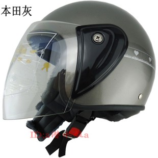 Factory direct helmet with a scarf and a half less than half helmet motorcycle helmet helmet 302 multicolor