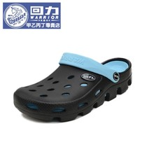 Back in the hole hole shoes male couples summer beach han edition cool sandals non-slip baotou slippers sandals for men and women