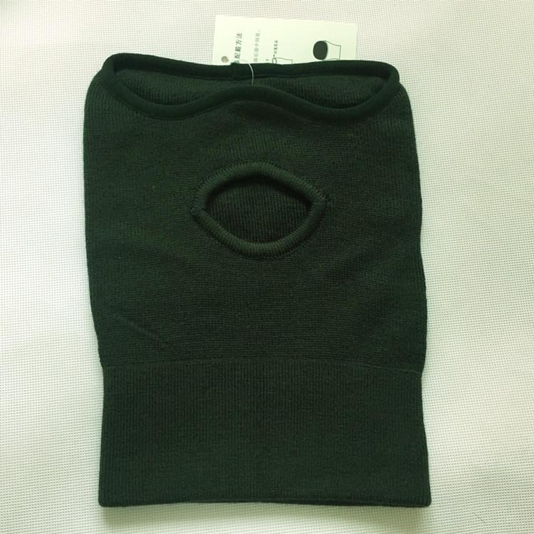 包邮正品07防寒面罩户外防风头套纯羊毛橄榄绿面罩加厚骑行面罩