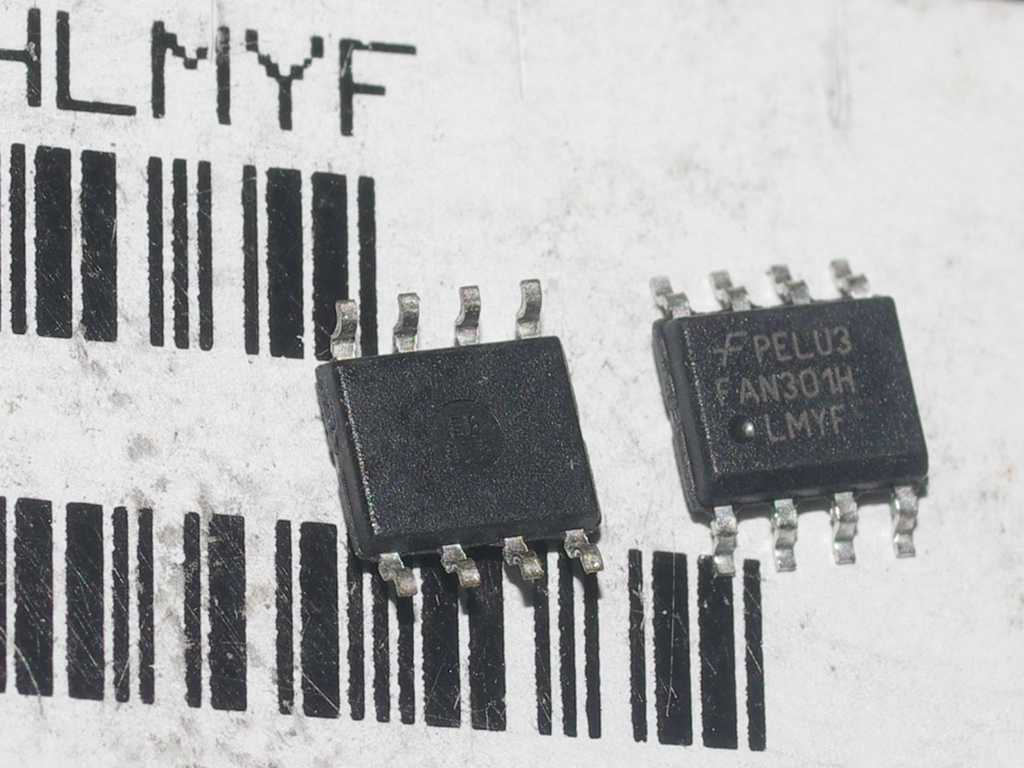 One yuan and two fan301h power management chips