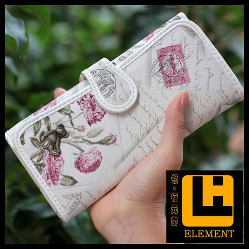 Одноместный бумеры плюшевый медведь мультфильм Медведь вокруг бумажник 5 детей бумажник свет день рождения подарок кошельки