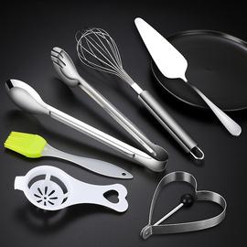不锈钢打蛋器手动鸡蛋搅拌器 家用手持式不锈钢搅蛋棒 厨房小工具图片