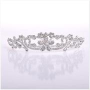 Crown tiara Bridal jewelry wedding dress accessories-