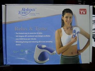 Relax amp Tone push fat device electric massager Push fat massager broken fat massager 5 heads