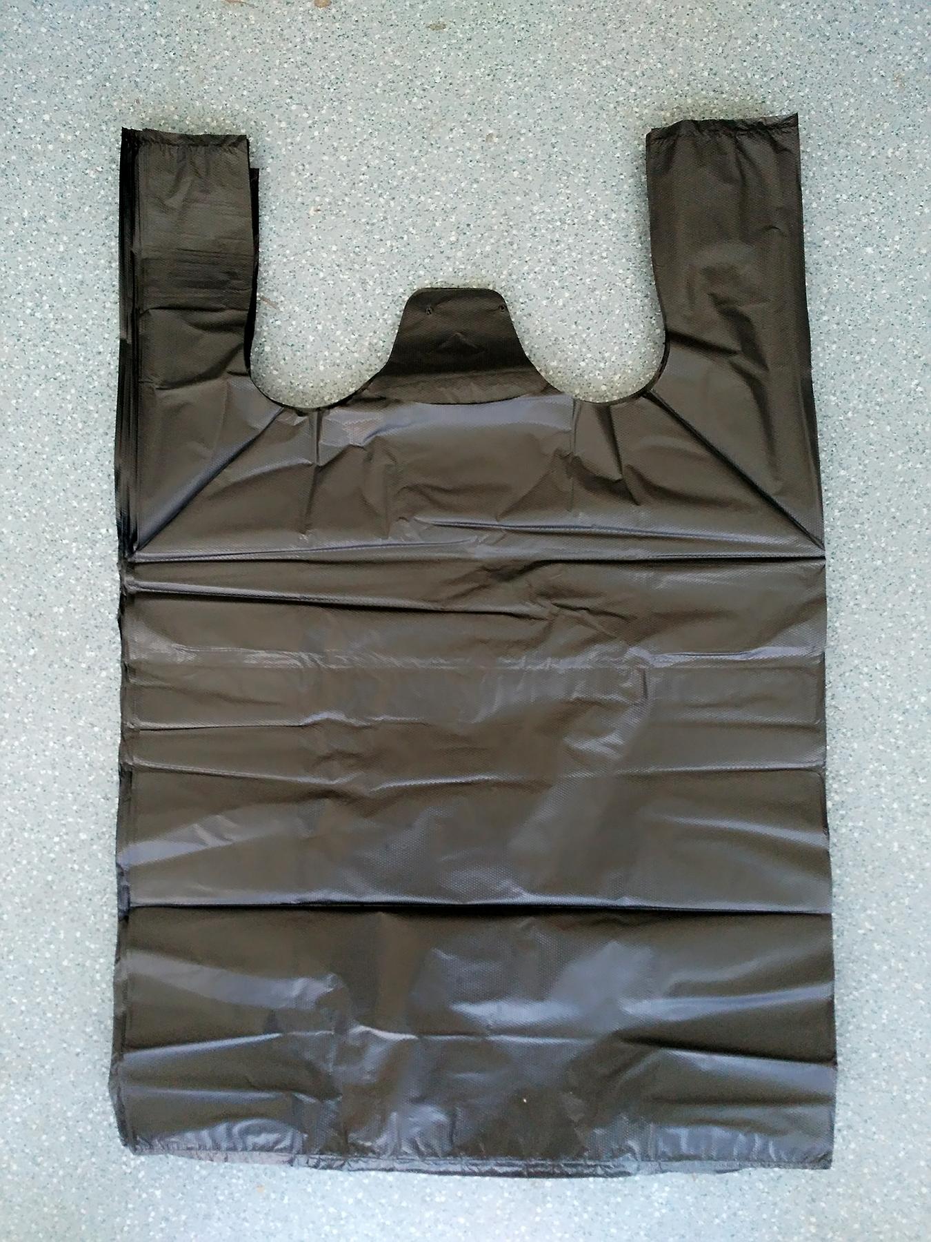 1件包邮手提背心式垃圾袋加厚黑色彩色塑料袋马甲袋提手袋包邮