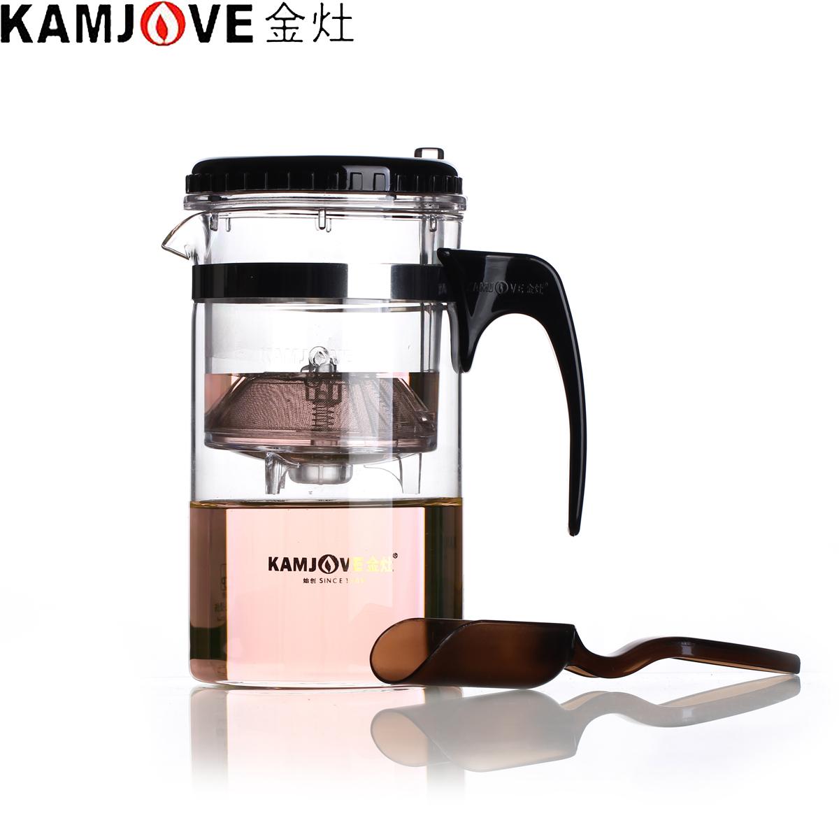 金灶TP~200泡茶杯帶把功夫茶具玻璃茶壺耐熱飄逸杯過濾杯