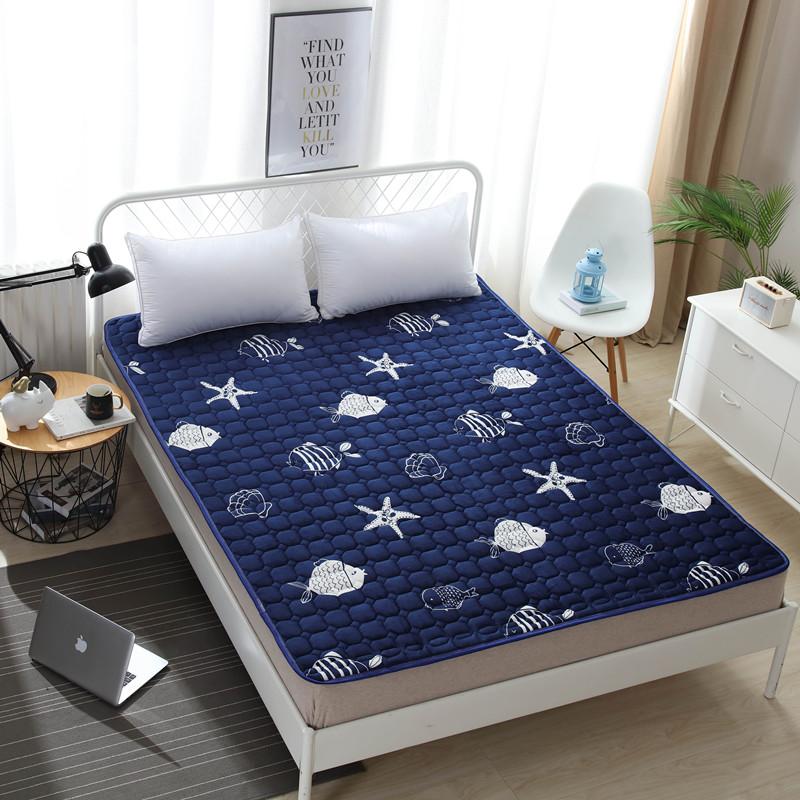法兰绒床垫学生宿舍单人铺睡垫1.2被褥子1.5m双人1.8米保暖榻榻米券后13.72元
