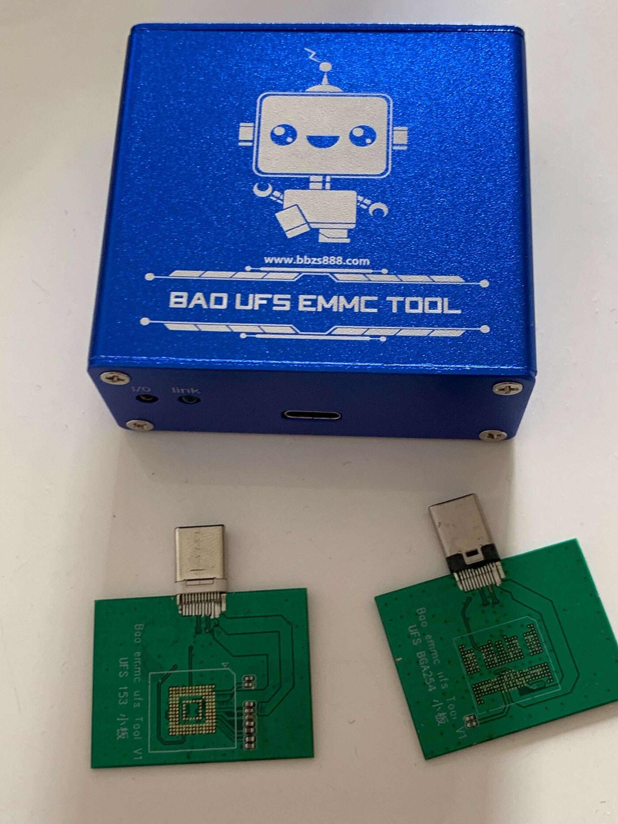 BAO UFS EMMC TOOL 编程器 R17 FINDX 解锁 OPPO R17PRO Reno Ren
