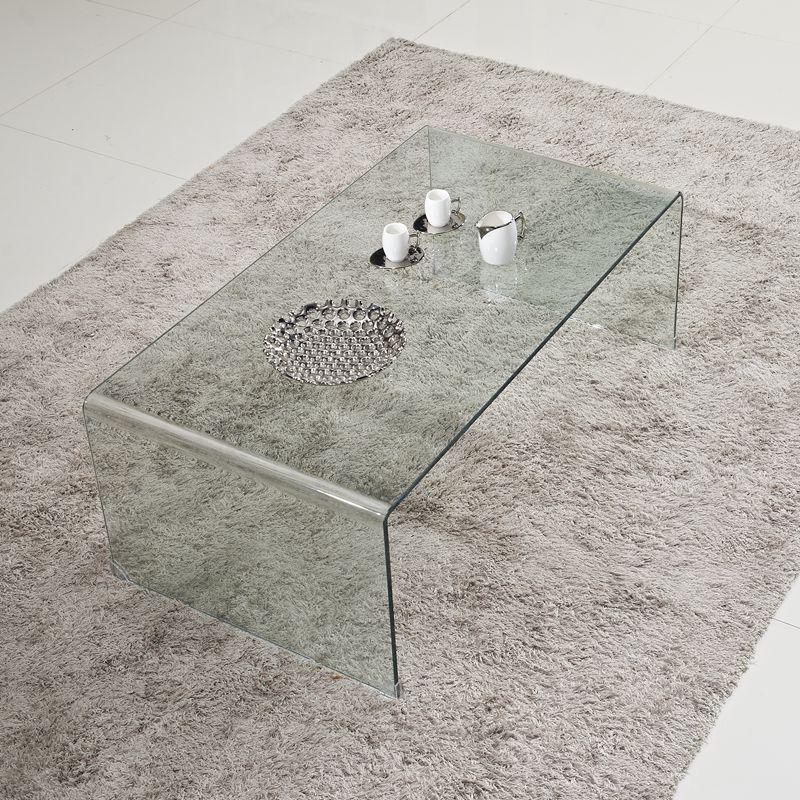 茶几玻璃客厅简约现代小户型茶桌长方形简易茶几桌创意办公功夫的