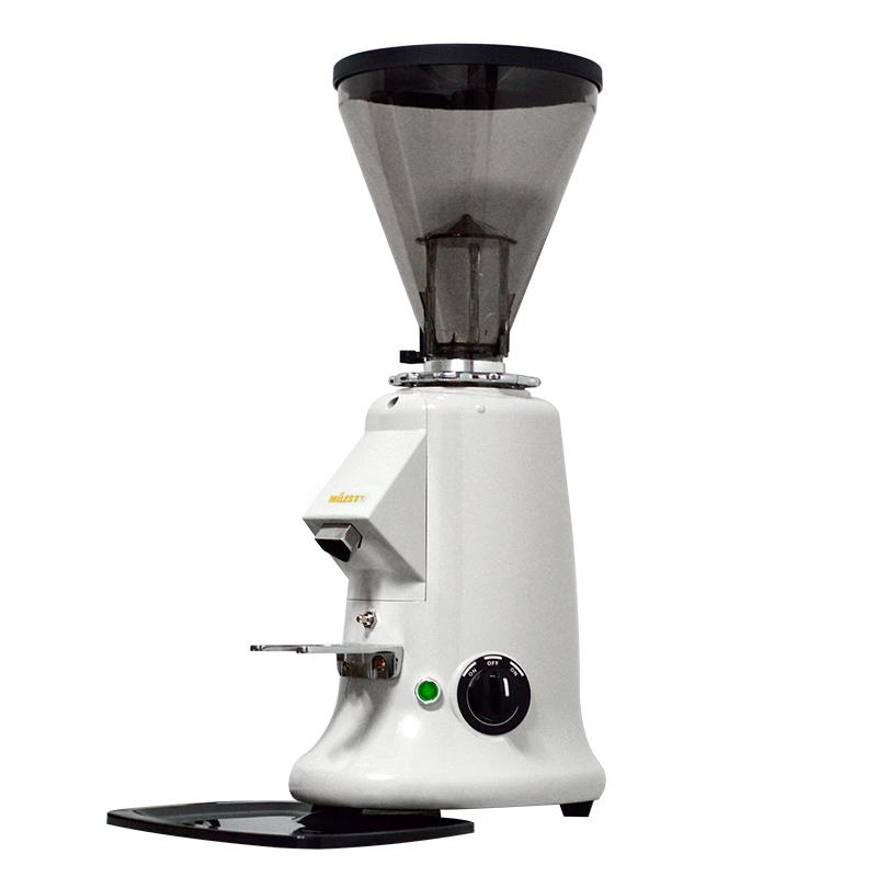 热销13件不包邮MILESTO/迈拓600AE直出磨专业意式磨豆机咖啡豆研磨机免清理白色
