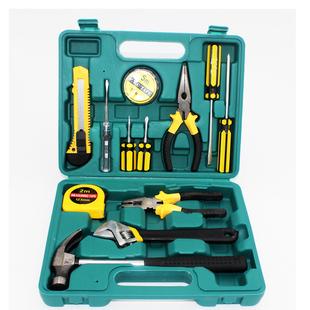 8件9件12件13件16件套工具箱盒家用組合套裝保險汽車載維修工具包