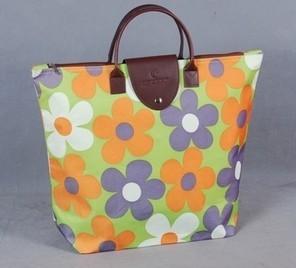 Advertising gift fashion womens bag design foldable portable environmental protection shopping bag storage bag can be printed with logo