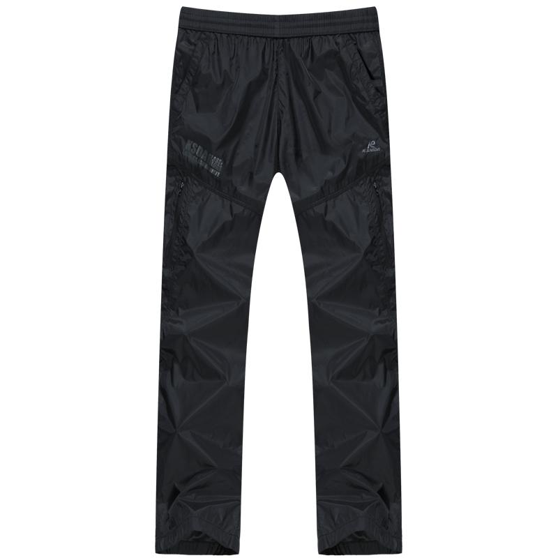 Кей Homestead Новая весна/лето мужчины ультралайт ветрозащитный досуга моды пояса шнурок прямые ноги тренировочные брюки