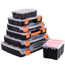 Plastic Portable Tool box Toolbox part box screw storage box electronic Components box box material box