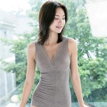 春女轻压瘦身塑身束腰收腹美背美体上衣束身背心打底衫秋保暖内衣
