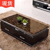 欧梵尼大理石茶几简约客厅现代时尚小户型家具特价功夫电视柜组合
