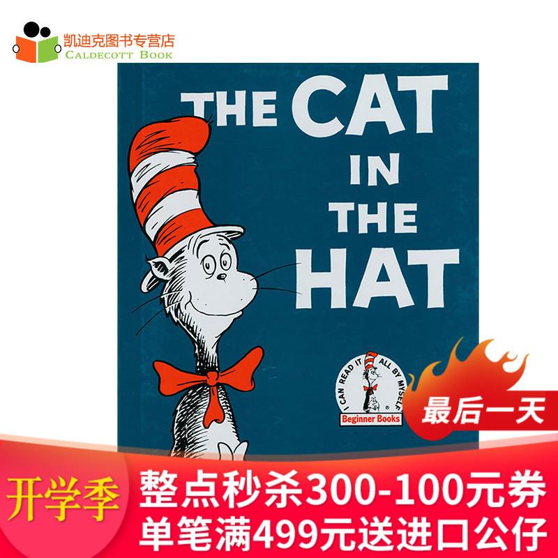 #美国进口 Dr. Seuss 苏斯博士代表作 The Cat in the Hat 戴高帽子的猫 【精装】