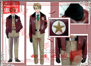 Men Hetalia APH Hetalia cos American uniforms can be customized to send leather gloves