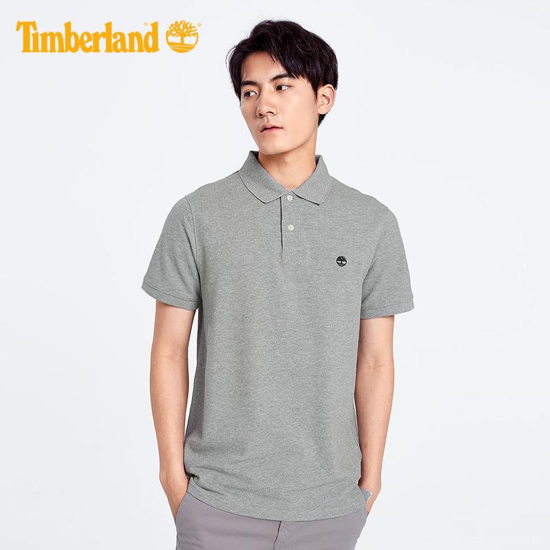 【经典款】Timberland添柏岚男装短袖Polo户外T恤衫|A1A2E