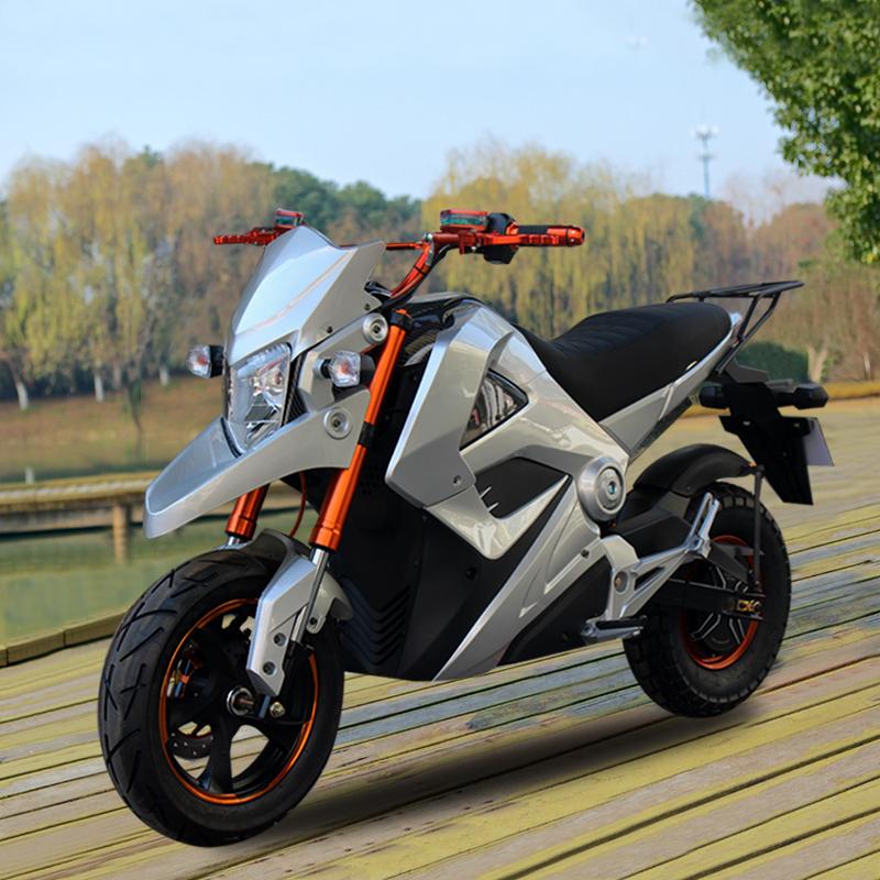 (用381.6元券)小猴子m3m5电动摩托车小怪兽电瓶车96V成人女高速电摩电动跑车72V