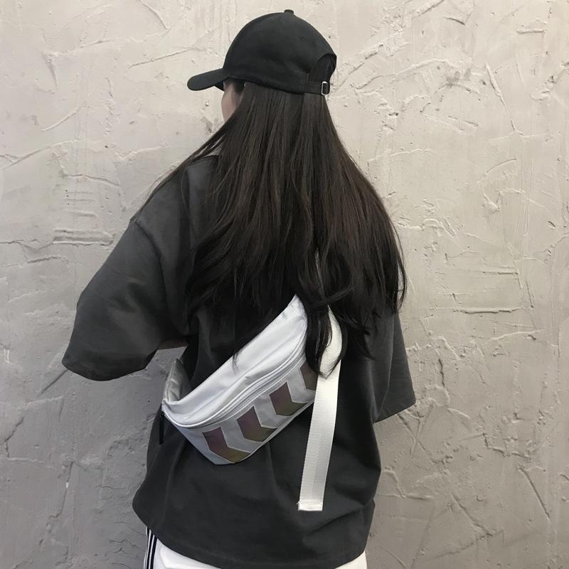 百搭网红小包包质感斜挎腰包女潮ins时尚休闲胸包2019新款嘻哈包