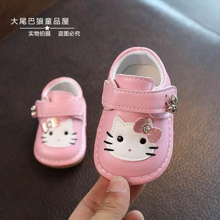 女婴儿幼儿小皮鞋女宝宝鞋子学步单鞋软底春秋0-1岁6公主八12个月