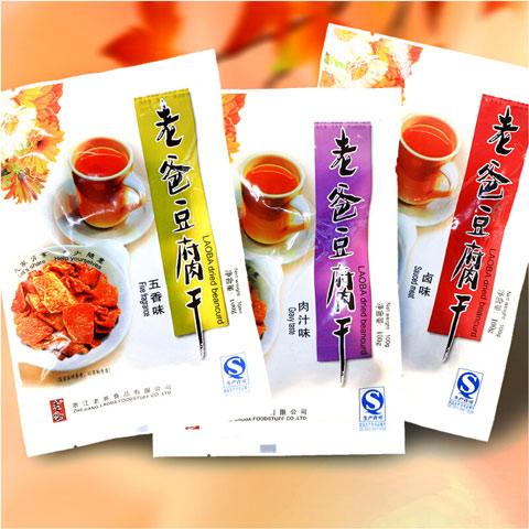 老爸豆腐干卤豆干小包装零食小吃【老爸豆腐干100g×10包】