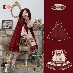 领3元券购买原创设计洛丽塔lolita复古连衣裙