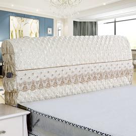 欧式床头罩床头套全包1.8米床加厚靠背罩简约现代软包弧形保护罩图片