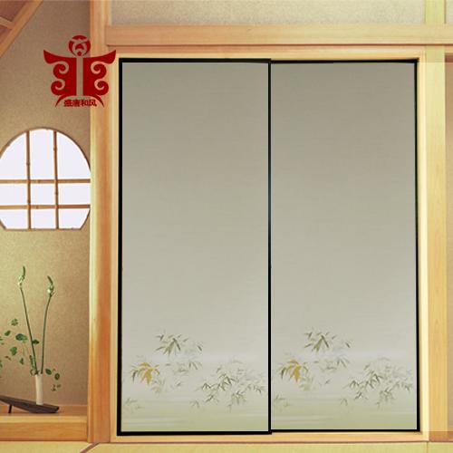 盛唐和风日本和室柜门纸隔断门纸榻榻米福司马纸浮世绘福司玛门纸