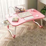 床上书桌笔记本电脑桌可折叠宿舍神器学生用小桌子懒人儿童学习餐