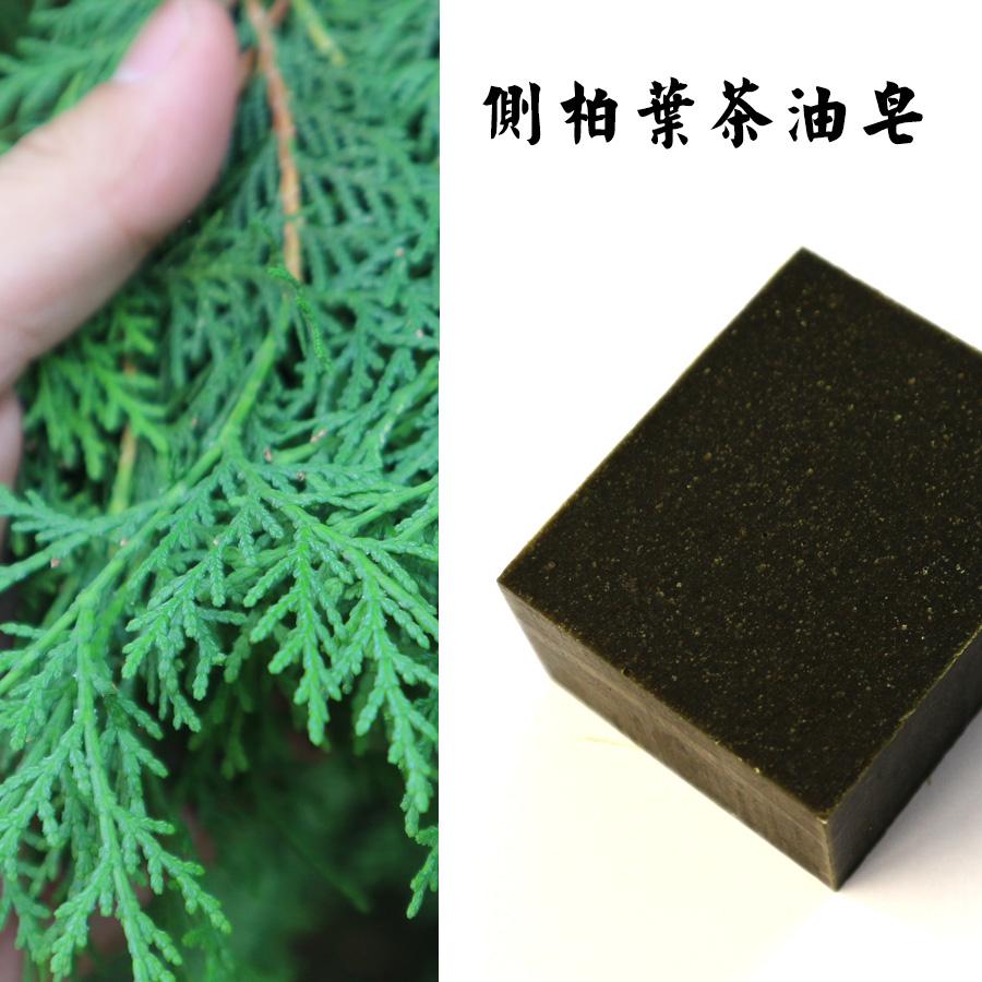 侧柏叶茶油皂植物洗发皂防脱柔顺止痒乌发