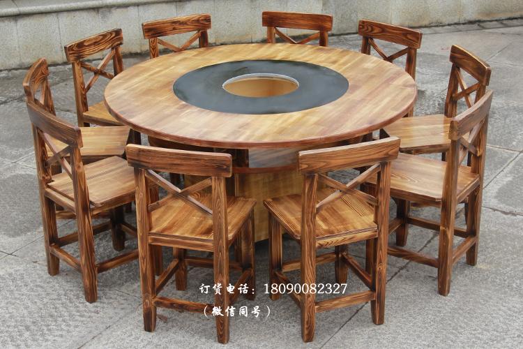 Кабинет большой мрамор блюдо столы и стулья сочетание электромагнитная печь газ блюдо столы и стулья дерево блюдо магазин круглый стол квадратный стол