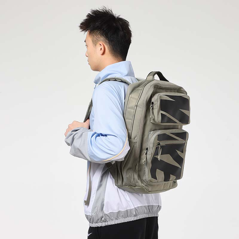 Nike backpack men's bag female bag 2021 summer new travel bag casual sports bag backpack CZ1247-320