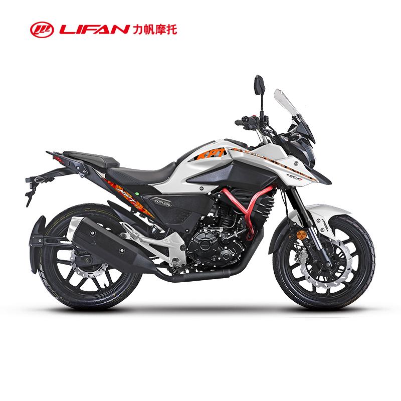 力帆摩旅摩托车KPT200-10D国四电喷ABS版水冷拉力摩托车巡航车