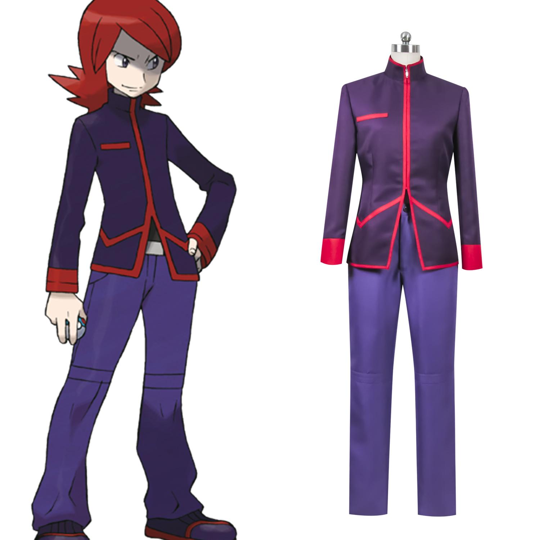 神奇宝贝特别篇劲敌阿银cosplay服装定做cos动漫服装定做服饰