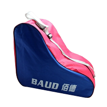 Baud roller skates triangle bag thickened ice knife shoe bag skating sports casual bag pattern shoe bag
