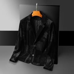 2021年新款男士修身西装西服 B2078 P160 平铺图
