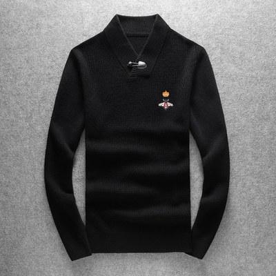冬季羊绒衫100%男毛衣针织衫打底衫v领男19708/p245货足