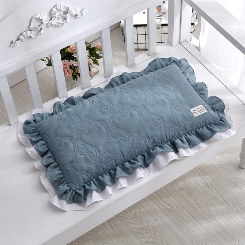韩式全棉荞麦枕头水洗棉女士学生护颈枕头芯