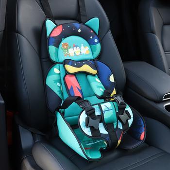 儿童安全座椅简易0-4-12岁车载宝宝婴儿通用汽车便携式安全绑带