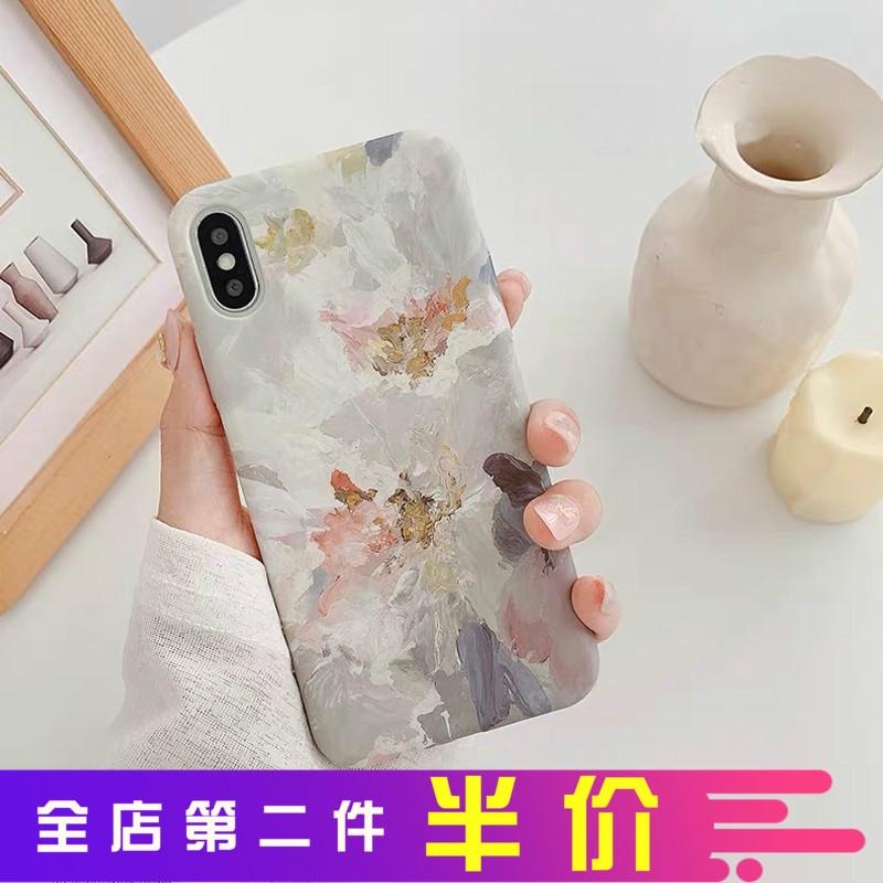 文艺油画一加7pro 7趣味 1+5t手机壳热销11件需要用券
