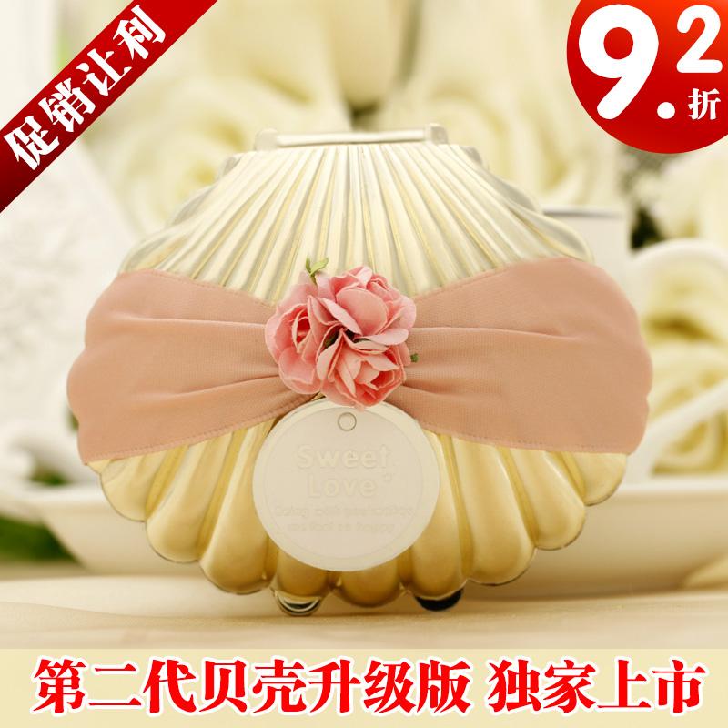 Длинные Свадебные конфеты коробки в Центральной Кореи творческой раковины конфеты Подарочная коробка конфеты box JBK05