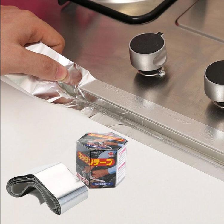 日本进口东洋厨房铝制水槽接缝胶带厨卫防水防霉美缝隙密封胶条(非品牌)