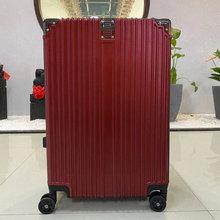 探路骆驼铝框拉杆箱80585200