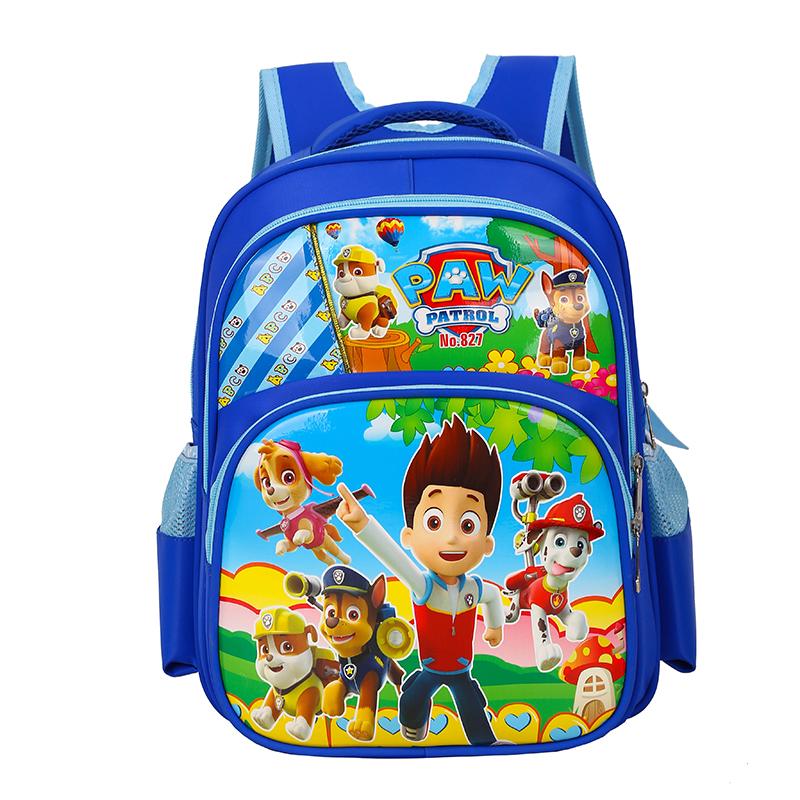 幼儿园书包卡通男童学前班汪3-4-5岁双肩背包儿童可爱小书包