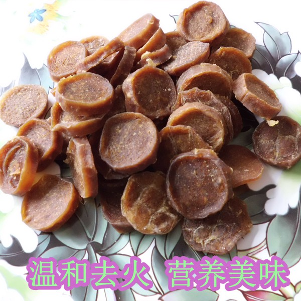 Duck slices 500g duck slices dog snacks pet snacks training nutrition molar teeth health pet food