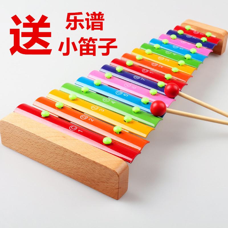Ребенок специальность удар музыкальные инструменты 15 звук рука стучать дерево гусли борьба гусли музыка обучения в раннем возрасте деревянный система головоломка игрушка подлинный